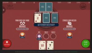 3 Card Poker online spielen