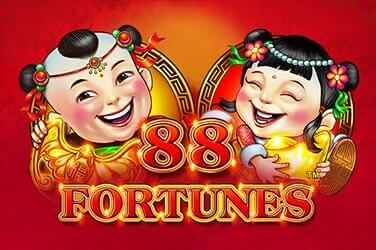 88 Fortunes Slot Logo