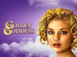 Golden Goddess Slot Logo