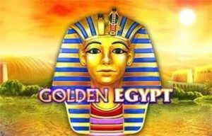 Golden Egypt Slot Logo