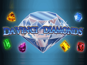 Da Vinci Diamonds Slot Logo