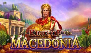 King of Macedonia Slot Logo