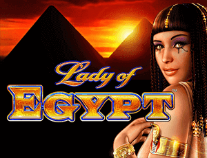 Lady of Egypt Logo Slot