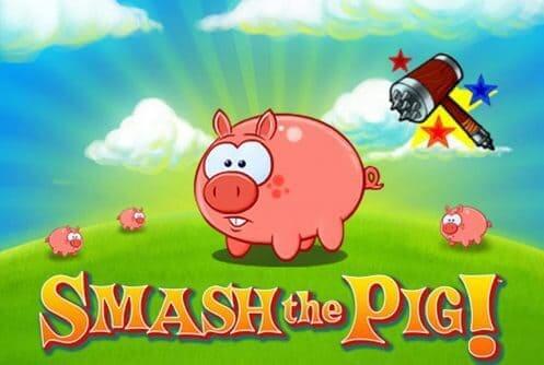 Smash the pig slot logo