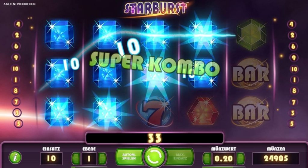 Starburst Video Slot