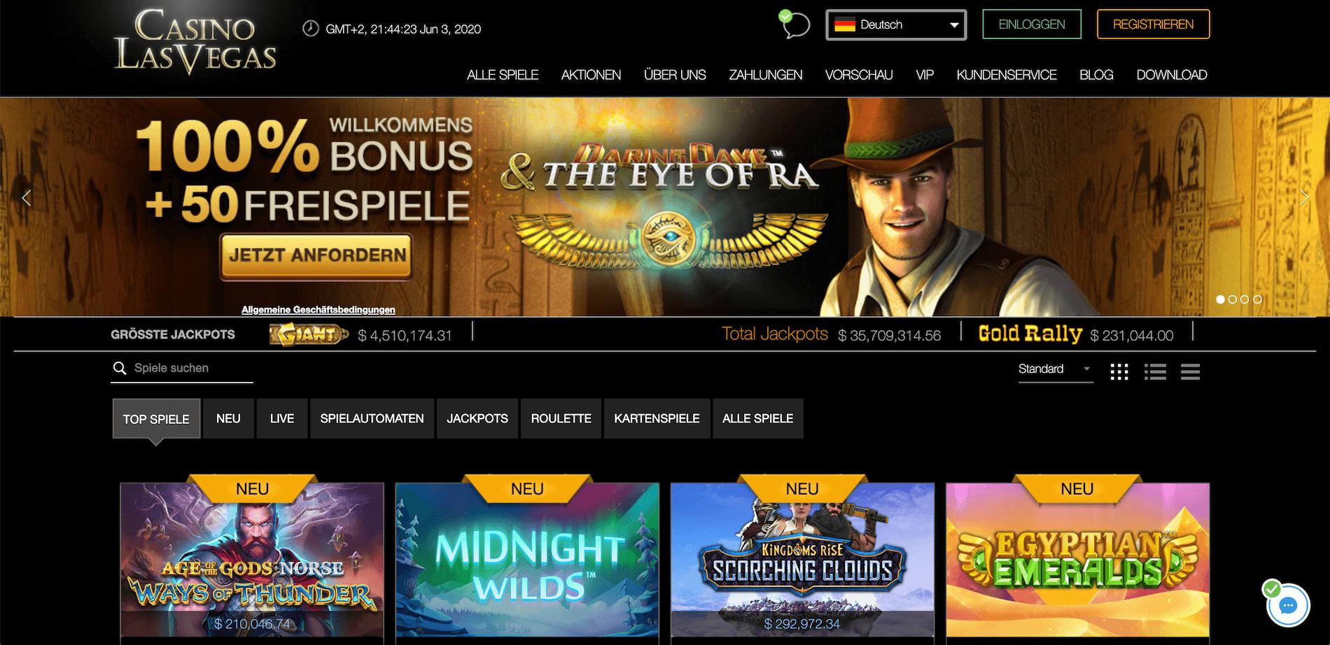 Casino LasVegas Startseite