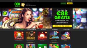 888 Casino Startseite