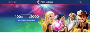 Ares Casino Angebot