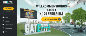 Gate777 Casino Startseite