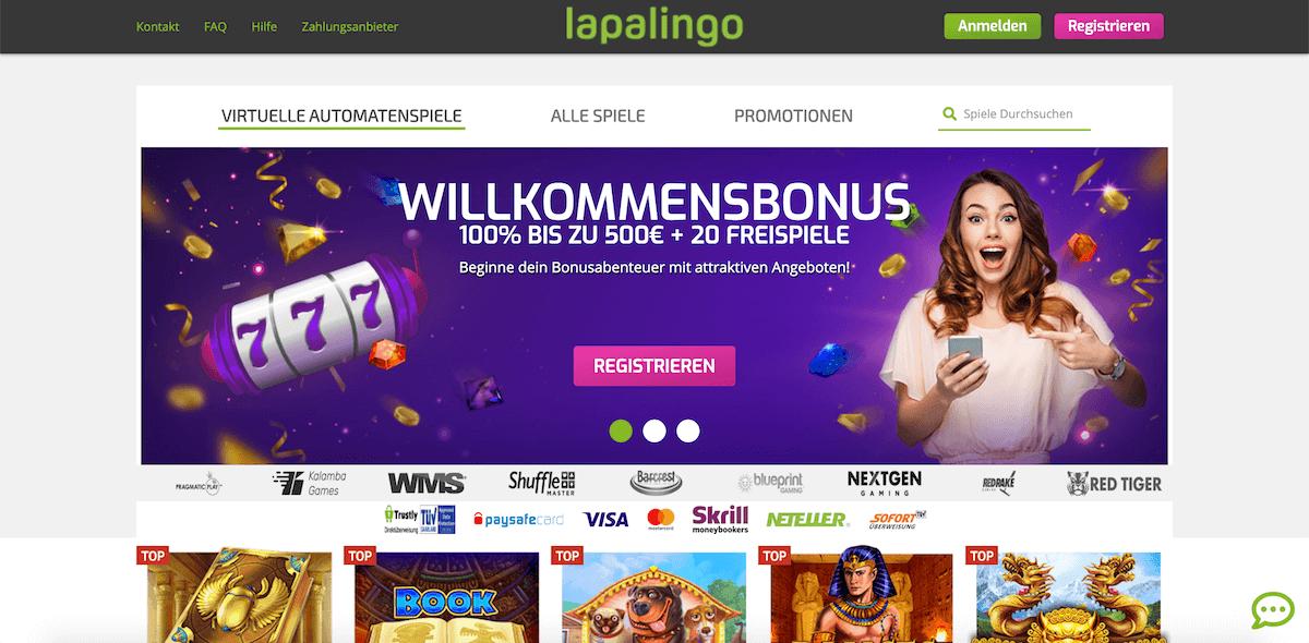 Lapalingo.de Startseite