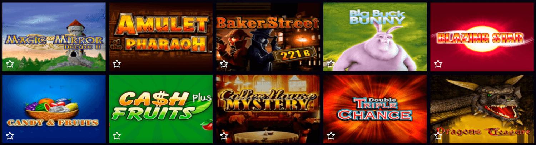 Merkur Spiele im 4 Crowns Casino