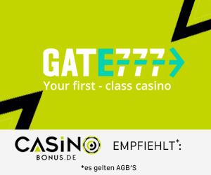 Casinobonus empfiehlt Gate777