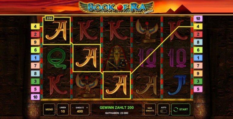 Book Of Ra Win