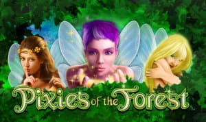 Pixies Of The Forest Slot Logo