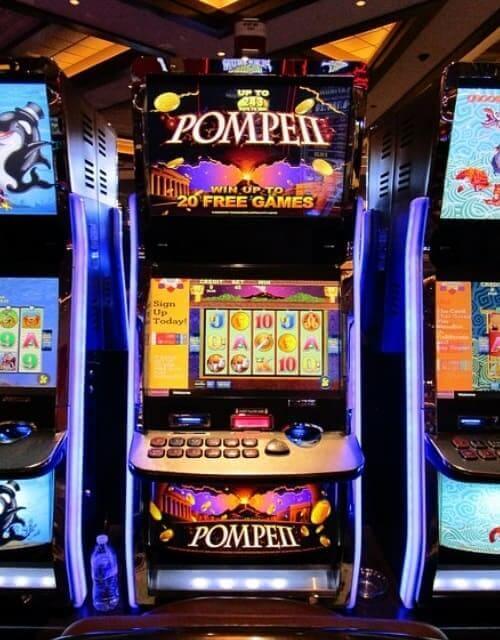 Casino Bonus bei einem Spielautomaten