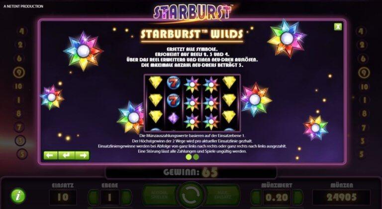 Starburst Regeln