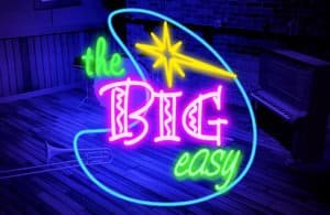 The Big Easy Slot Logo