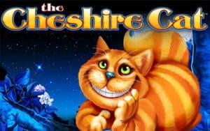 The Cheshire Cat Slot Logo
