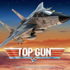 Top-Gun Online Slot Logo