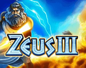 Zeus III Slot Logo