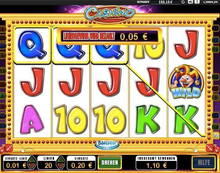 Cashino Slot Win