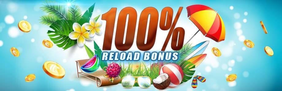 Casino Club Reload Bonus