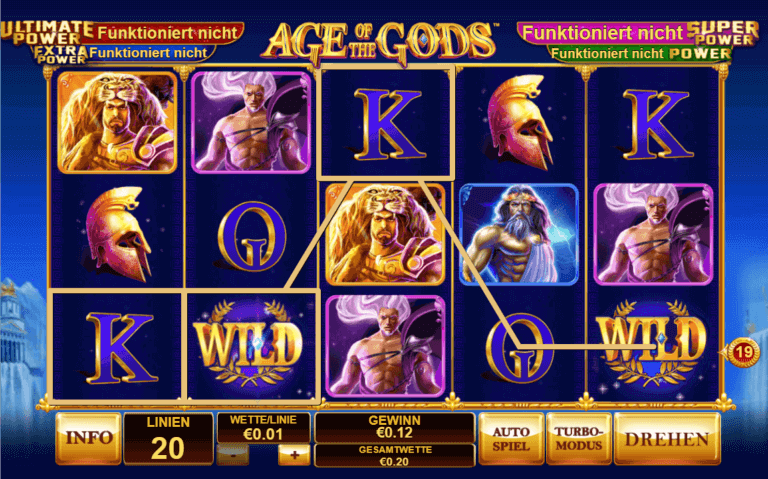 Casino Las Vegas Age of the Gods