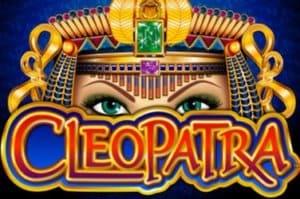 Cleopatra Mega Jackpots Slot Logo