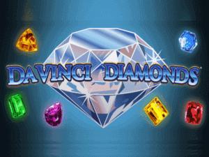 Davinci Diamonds Slot Logo