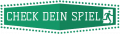Check dein Spiel Logo