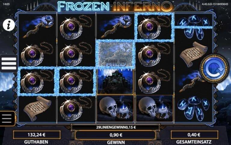 Frozen Inferno Slot Win