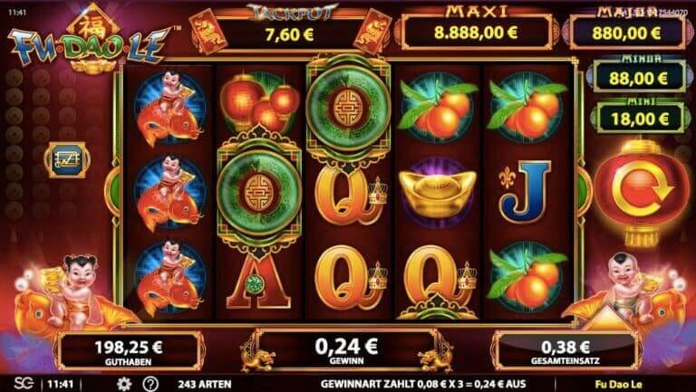 Fu Dao Le Slot Win
