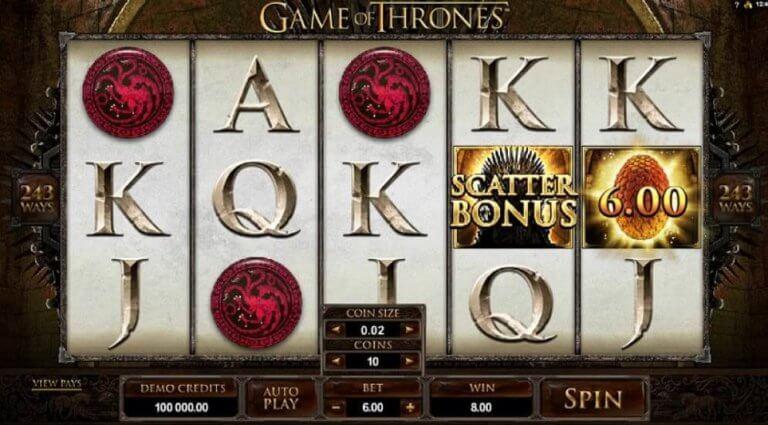 Game Of Thrones Slots Hintergrund