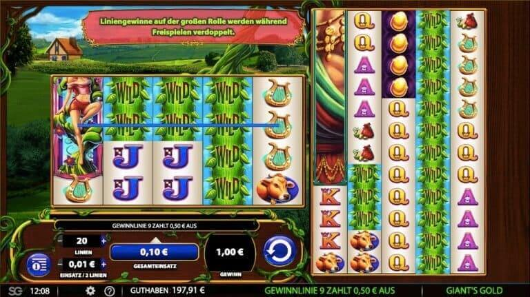 Giants Gold Slot Win
