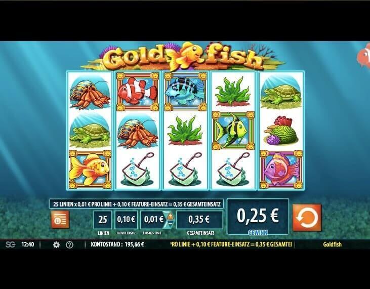 GoldFish Slot Win