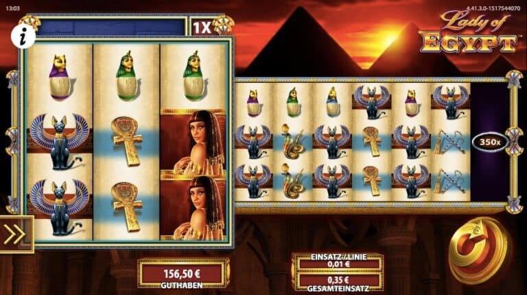 Lady of Egypt Slot