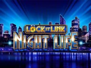 Lock It Link Night Life Slot Logo