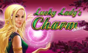 Lucky Ladys Charm Deluxe Slot Logo