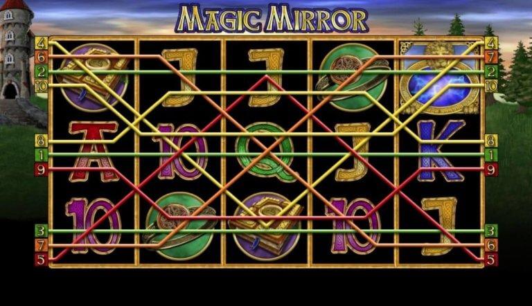 Magic Mirror Gewinnlinien