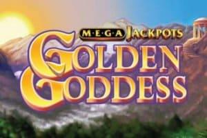 Golden Goddess Slot Logo