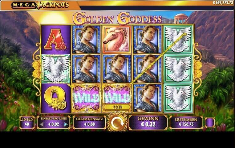 Golden Goddess Slot Win