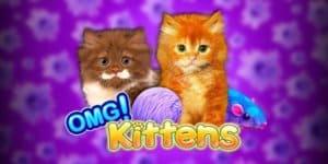 OMG Kittens Slot Logo
