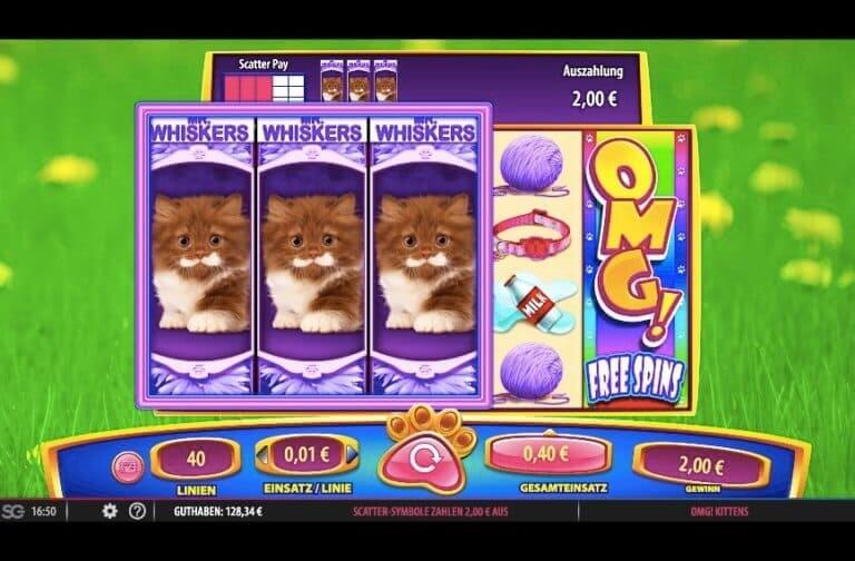 OMG Kittens Slot Win