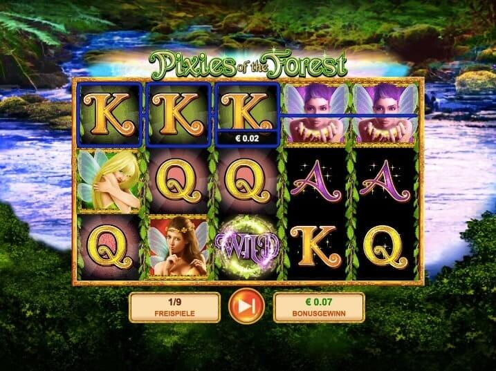 Pixies Of The Forest Slot Freespins
