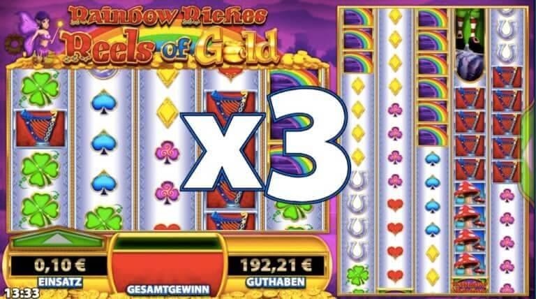 Rainbow Riches Slot Freebonus