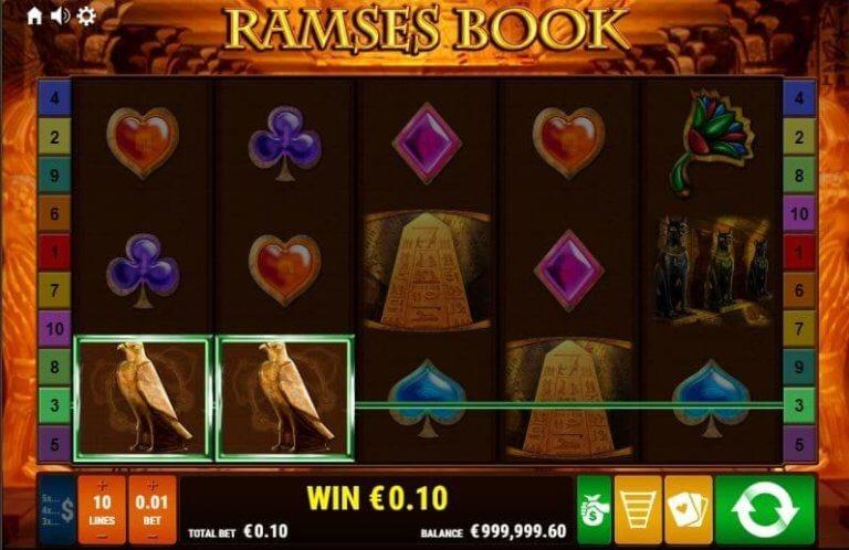 Ramses Book Win