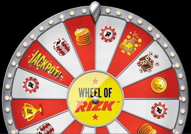 Rizk Casino Wheel
