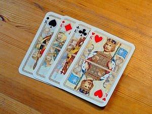 Kartenspiel Romme