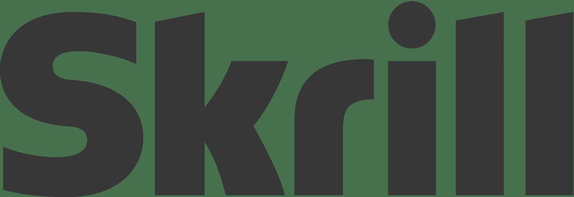 Skrill Logo Grey