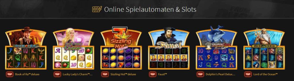 Stargames beliebte Slots